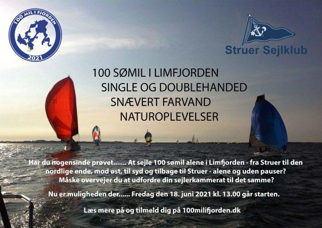 Invitation til 100 mil i fjorden i Struer Sejlklub
